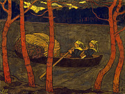 Famous Artists - Boatwomen in Brittany by Georges Lacombe