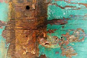 Boatyard Abstract 6 Print by Newel Hunter