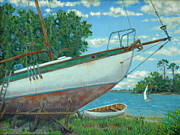 Dwain Ray - Boatyard on the Creek
