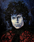 Dylan Paintings - Bob Dylan 1967 by Lutz Baar