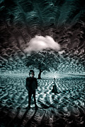 Rain Digital Art - Bob Dylan A Hard Rains A-Gonna Fall by Mal Bray