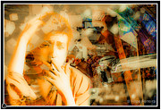 Bob Dylan Digital Art Originals - Bob Dylan Artwork by Filipe Ferreira