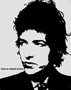 Cat Jackson Framed Prints - Bob Dylan Framed Print by Cat Jackson
