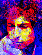 Bob Dylan Digital Art - Bob Dylan by John Novis