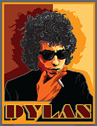 Bob Dylan Digital Art - Bob Dylan by Larry Butterworth