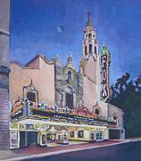 Bob Hope Theatre Print by Vanessa Hadady BFA MA