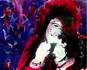 Rock And Roll Painting Originals - Bob by John  Dunn
