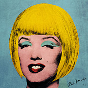 Signature Digital Art - Bob Marilyn  by Filippo B