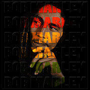 Rastafarian Framed Prints - Bob Marley 1 Framed Print by Andrew Fare