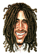 Reggae Art - Bob Marley by Art
