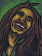 Surrealism Pastels Originals - Bob Marley by Kamil Swiatek