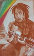 Bob Marley Print by Miguel Rodriguez
