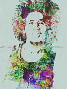 Bob Marley Music Legend Print by Naxart Studio