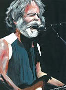 Kevin J Cooper Artwork Posters - Bob Weir THREE Poster by Kevin J Cooper Artwork