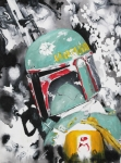 Boba Fett Paintings - Boba Fett by Wade Edwards