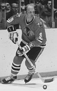 Skate Photo Metal Prints - Bobby Hull Poster Metal Print by Sanely Great