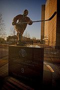 Public Art Prints - Bobby Hull Sculpture Print by Sven Brogren