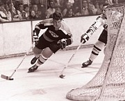 Hockey Photo Posters - Bobby Orr Hockey Legend Poster by Sanely Great