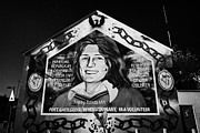 Belfast Framed Prints - Bobby Sands Mural Belfast Framed Print by Joe Fox