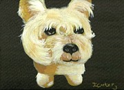 Bobby The Westie Print by Tanya Carter