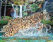 Sandra Wilson - Bobcat On The Hunt