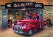 Garage Mixed Media - Bobs Custom 46 by Jose Rodriguez