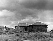 Ghost Town Outhouse Prints - Bodie Print by Bernard  Barcos