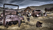 Wooden Building Originals - Bodie CA by Eduard Moldoveanu