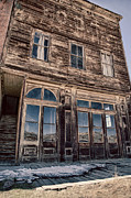 Old Windows Framed Prints - Bodie Framed Print by Cat Connor