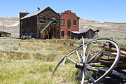 Tourism Framed Prints - Bodie Ghost Town 3 - Old West Framed Print by Shane Kelly