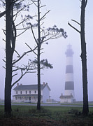 Dare County Framed Prints - Bodie Island Mist - FM000079 Framed Print by Daniel Dempster