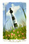 Lighthouse Digital Art Framed Prints - Bodie Light II Framed Print by Mike McGlothlen