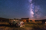 Old West Photos - Bodie Nights by Cat Connor