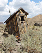 Bodie Out House Prints - Bodie Outhouse 18 Print by Lydia Warner Miller
