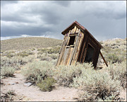 Bodie Out House Prints - Bodie Outhouse 20 Print by Lydia Warner Miller