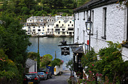 Public House Prints - Bodinnick Cornwall Print by James Brunker
