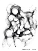 Gestures Framed Prints - Body gestures Framed Print by Christy Lifosjoe