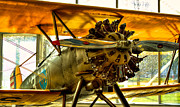 Boeing Museum Of Flight Acrylic Prints - Boeing 100P Fighter by David Patterson