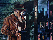 Humphrey Paintings - Bogart Is Waiting by Jo King