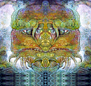 Bogomil Variations Otto Rapp  Michael F Wolik Digital Art - Bogomil Variation 11 by Otto Rapp