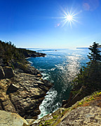 Quoddy Photography Posters - Bold Coast 2 Poster by ABeautifulSky  Photography