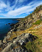 Quoddy Photography Posters - Bold Coast 3 Poster by ABeautifulSky  Photography
