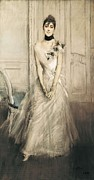 Portrait Of Woman Photo Framed Prints - Boldini, Giovanni 1842-1931. Portrait Framed Print by Everett