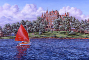 Richard De Wolfe Prints - Boldt Castle Print by Richard De Wolfe