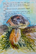 Toadstools Painting Originals - Boletus Edulis by Beverley Harper Tinsley