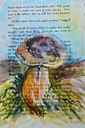 Boletus Edulis Print by Beverley Harper Tinsley