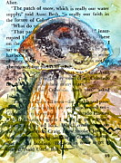 Toadstools Painting Originals - Boletus Edulis Close Up by Beverley Harper Tinsley