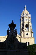 James Brunker - Bolivar Monument and San Francisco Church Panama City
