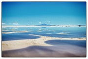 Bolivia Guide Prints - Bolivia Salt Flats Framed Print by For Ninety One Days