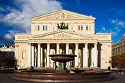 Great Architect Framed Prints - Bolshoi - Grand - Theater Of Moscow City - Featured 3 Framed Print by Alexander Senin
